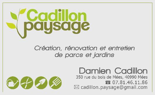 logo partenaire CADILLON PAYSAGE