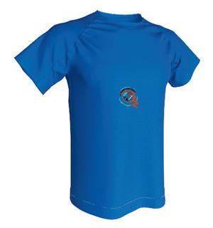 T-shirt Technique 100% polyester Enfant ACQUA ROYAL-img-236682