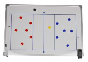 Tableau tactique Volley 90 x 60 cm-img-698