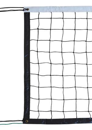 Filet volley entraînement 9.50x1M PE tressé 3mm simple maille 100 - câble acier (l'unité)-img-714