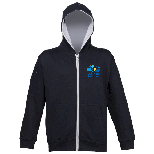 Sweat-shirt capuche zippé Varsity-img-62584