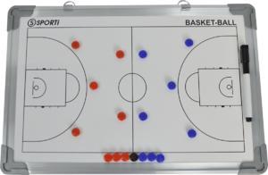 Petit tableau recto-verso basket 30x45cm-img-678