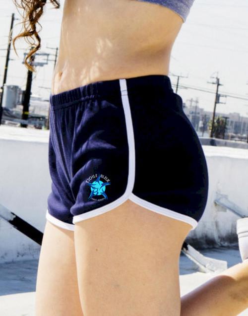 Women`s Interlock Running Shorts-AMERICAN APPAREL-img-66726