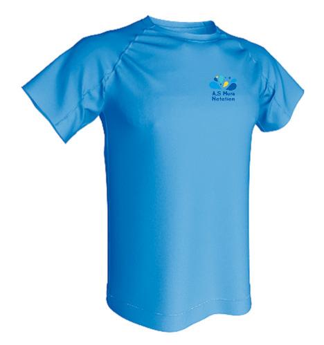 T-shirt Technique 100% polyester Enfant ACQUA ROYAL-img-63470