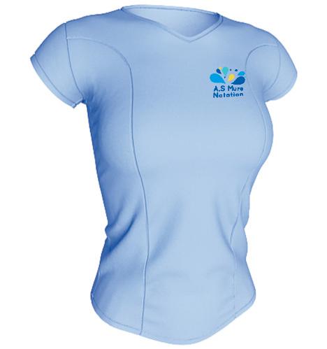 T-shirt Technique Femme 100% polyester ACQUA ROYAL-img-62576
