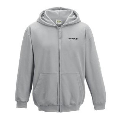 Sweat -Shirt à Capuche  zippé Enfant 280 AWDIS-img-25502
