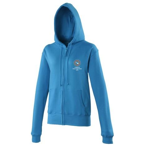 Sweat -Shirt zippé Femme 280 AWDIS-img-23934