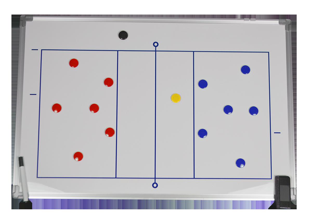 Tableau tactique Volley 90 x 60 cm